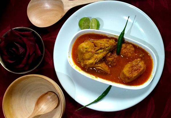 Tempting chicken curry recipe