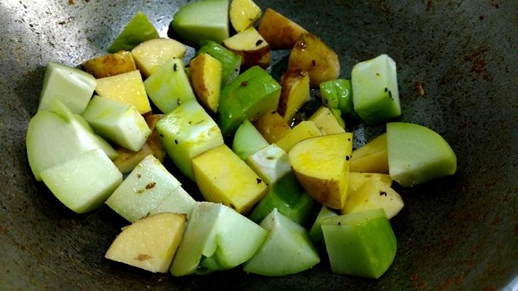 potato and squash