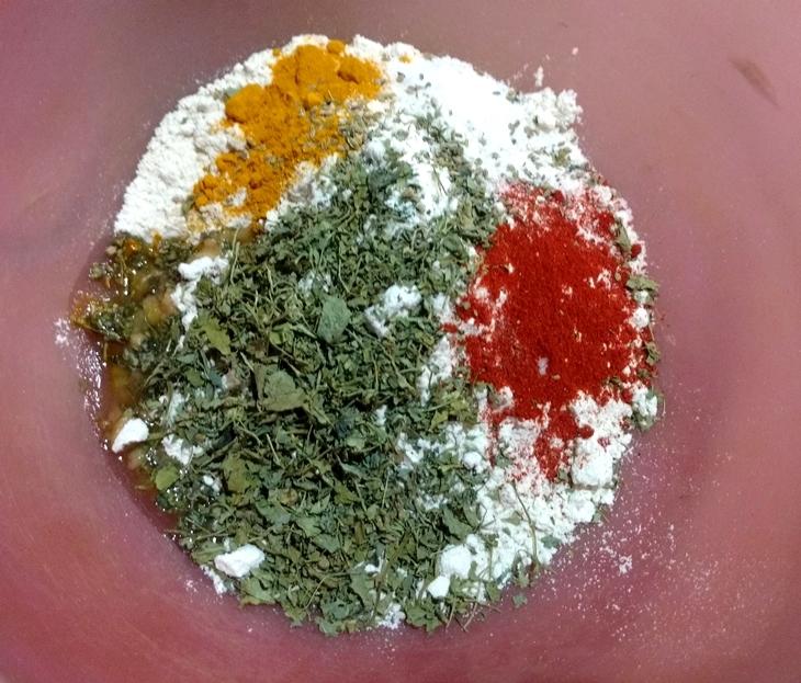 how to make crispy methi khakhra