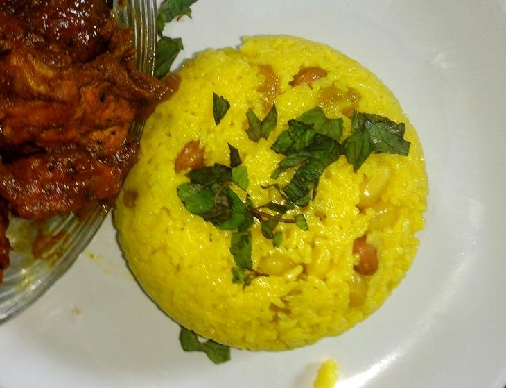 how to make  luscious basanti pulao