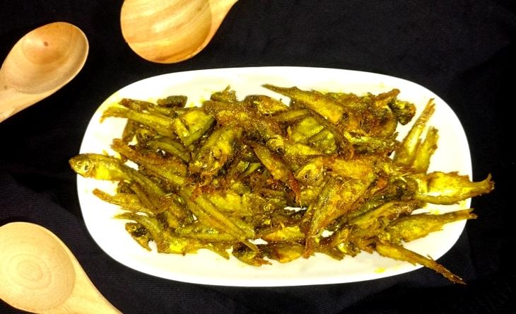 how to make morola mach bhaja/mola fish fry