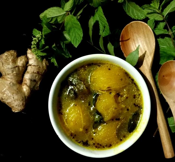 How to make bilati amrar chutney