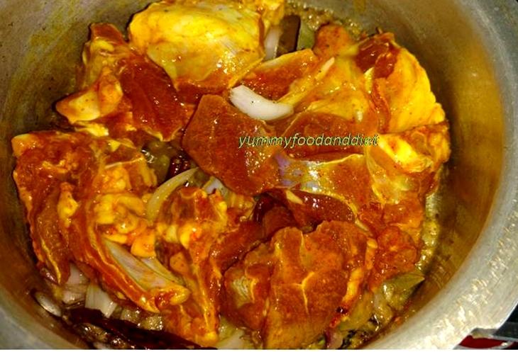 How to make spicy Kashmiri rogan josh