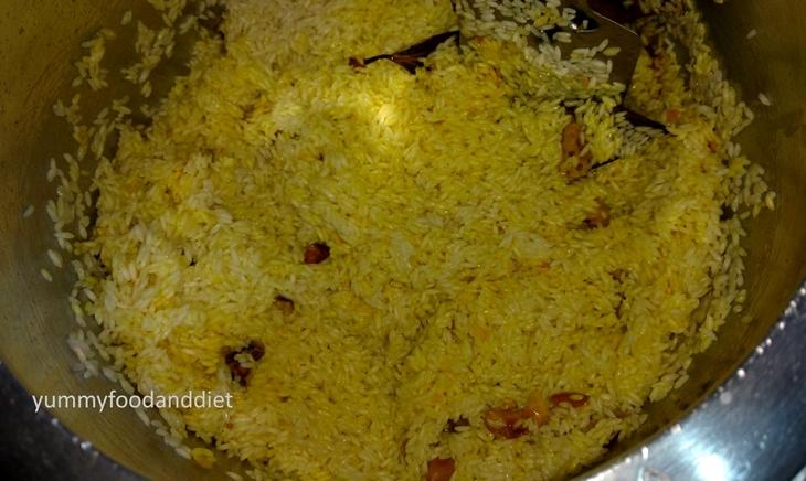 How to make Gobindobhog chaler misti pulao