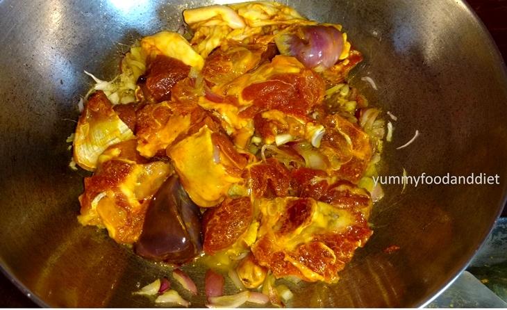 How to make spicy kosha pathar mangsho