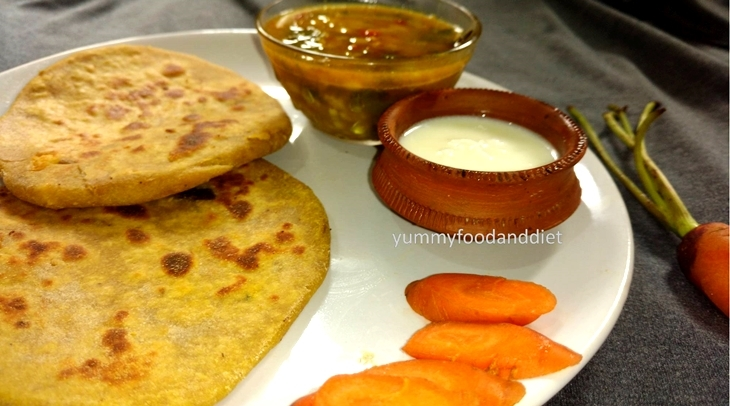 How to make delicious chhanar/chenner paratha