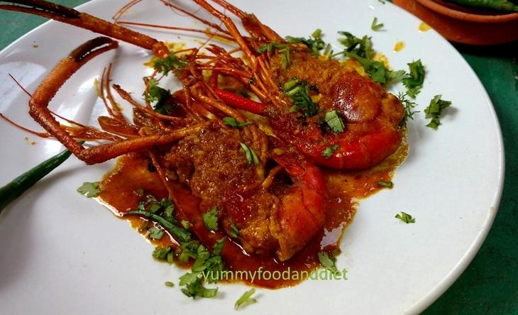 How to make spicy Golda chingrir kalia